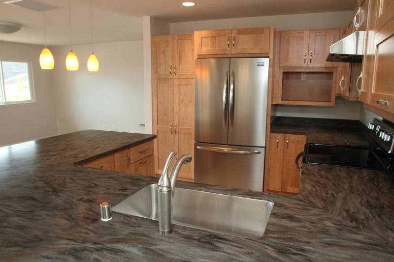 Functional Kitchen in a New Home