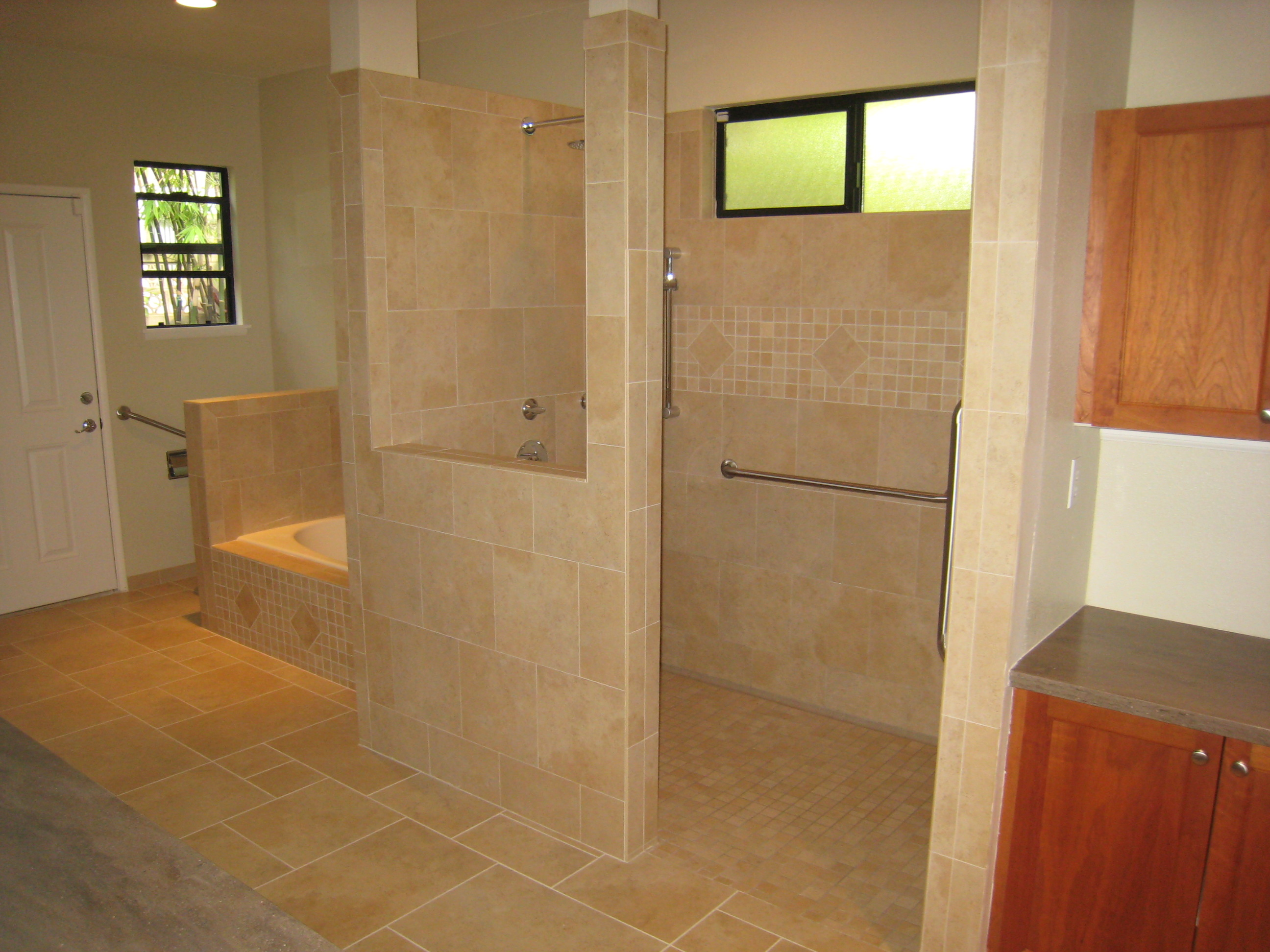The Aging-in-place Bathroom